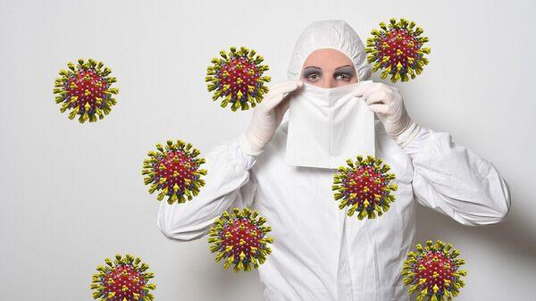 Protección contra el nuevo coronavirus (imagen referencial) - Sputnik Mundo