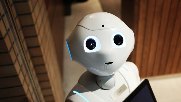Robot (imagen referencial) - Sputnik Mundo