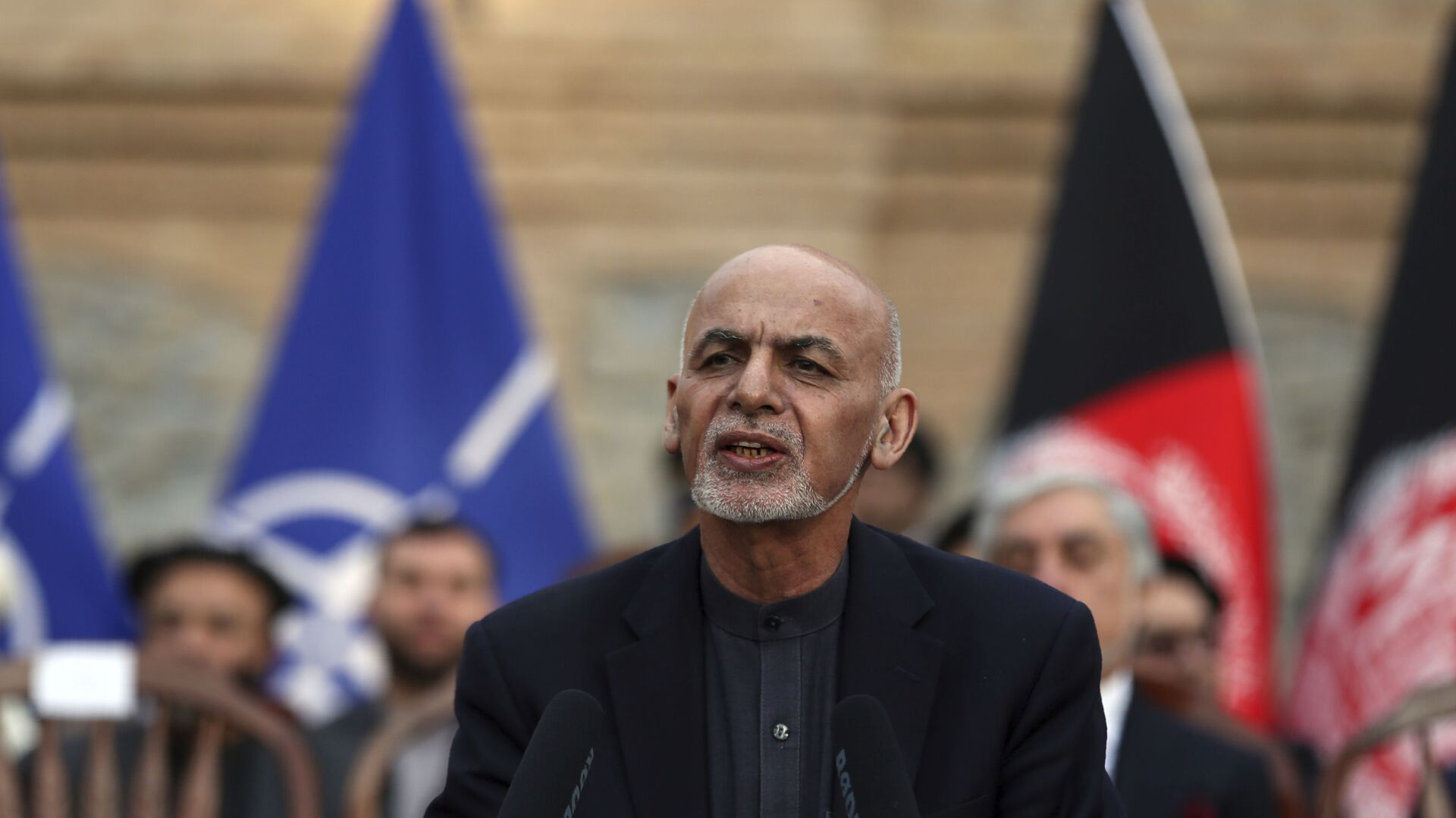 Ashraf Ghani, el presidente de Afganistán  - Sputnik Mundo, 1920, 24.09.2021