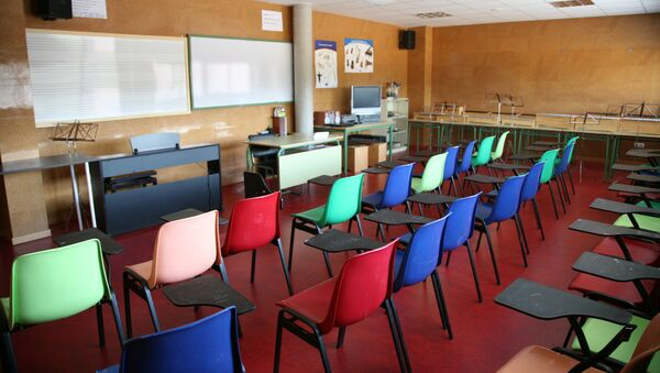 Aula instituto en España - Sputnik Mundo