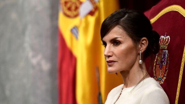 La Reina Letizia de España - Sputnik Mundo
