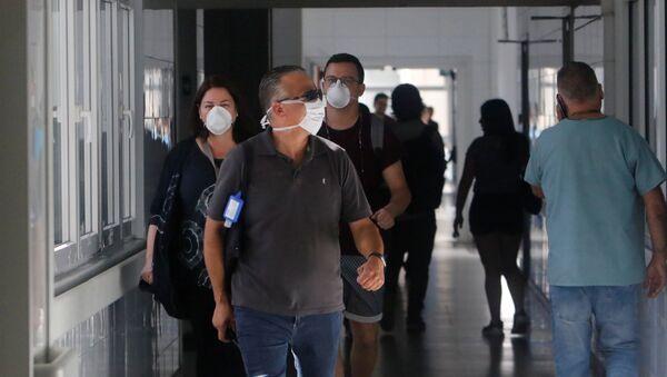 Situación en Chile debido al nuevo brote de coronavirus - Sputnik Mundo