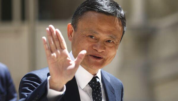 Jack Ma, fundador de la empresa de tecnologías china Alibaba - Sputnik Mundo