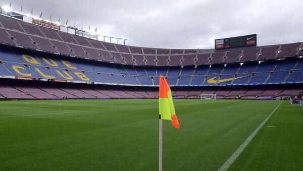 Estadio Camp Nou de Barcelona vacío - Sputnik Mundo