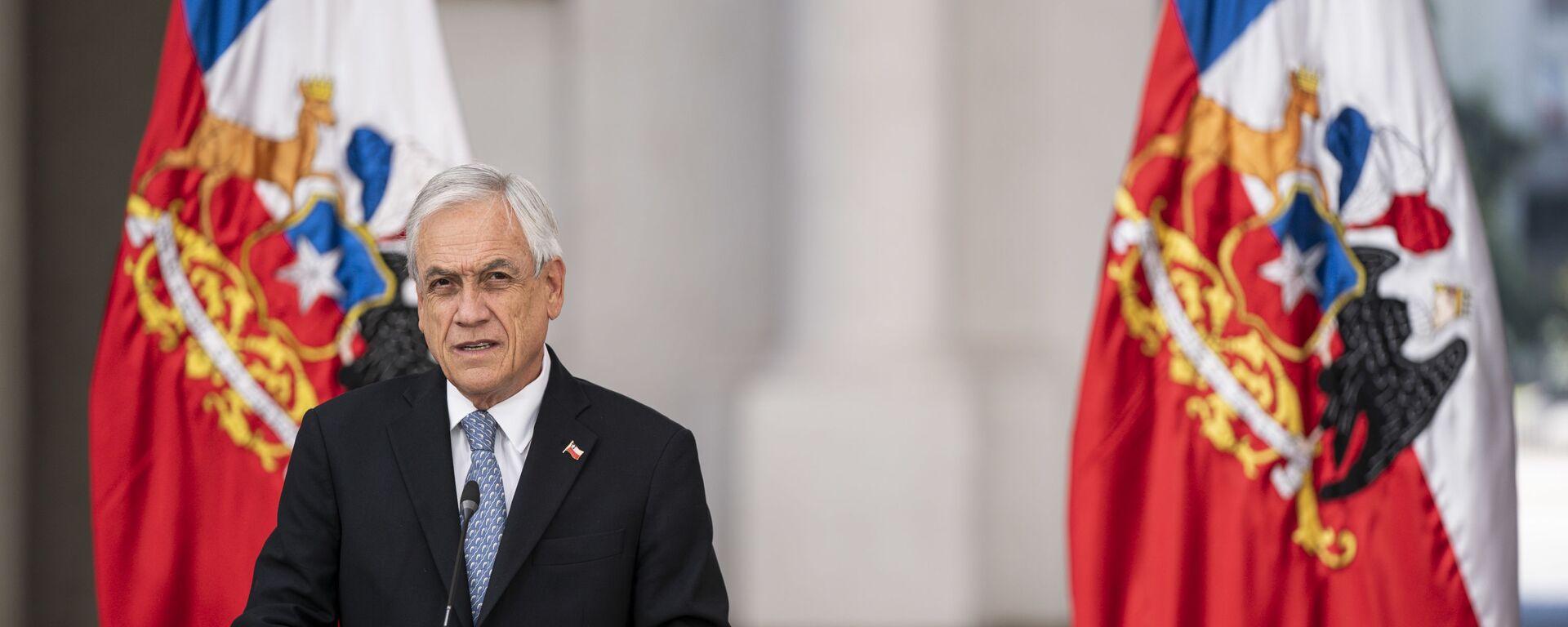 El presidente chileno Sebastián Piñera - Sputnik Mundo, 1920, 12.03.2021