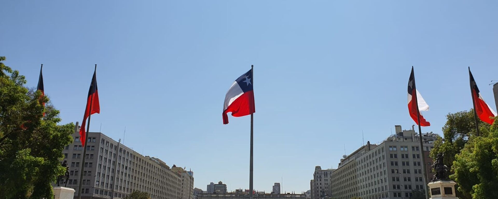 Bandera de Chile - Sputnik Mundo, 1920, 11.01.2021