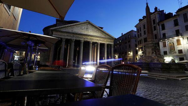 Situación en Roma, Italia - Sputnik Mundo