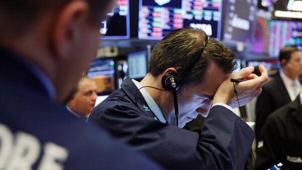 Una bolsa de valores (imagen referencial) - Sputnik Mundo