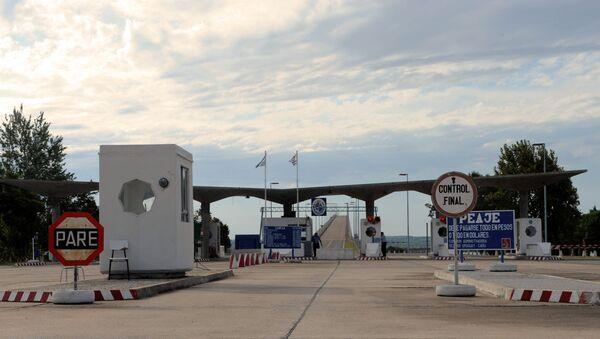 Frontera entre Uruguay y Argentina - Sputnik Mundo