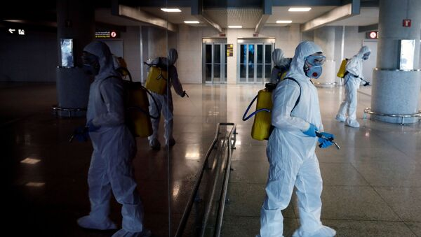 Lucha contra coronavirus en España - Sputnik Mundo