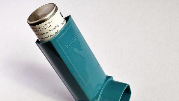 Un inhalador, imagen referencial - Sputnik Mundo