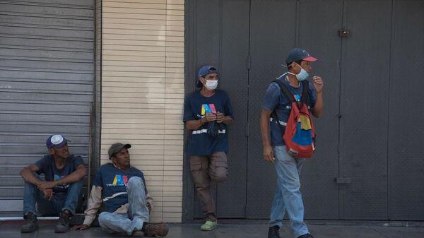 El primer día de cuarentena en Venezuela - Sputnik Mundo