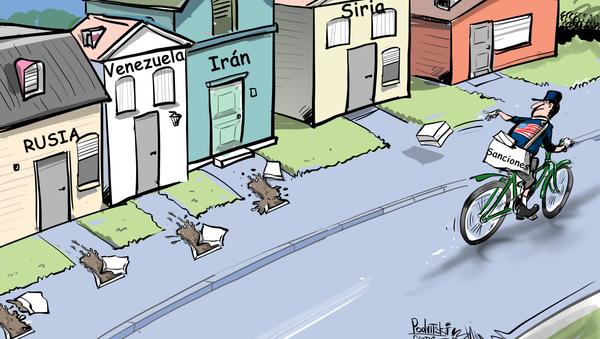 EEUU, el repartidor de sanciones - Sputnik Mundo