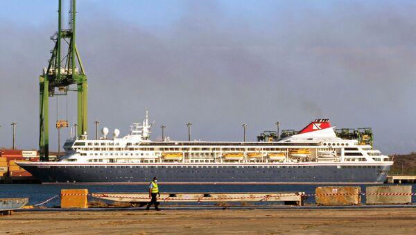 El crucero británico MS Braemar - Sputnik Mundo