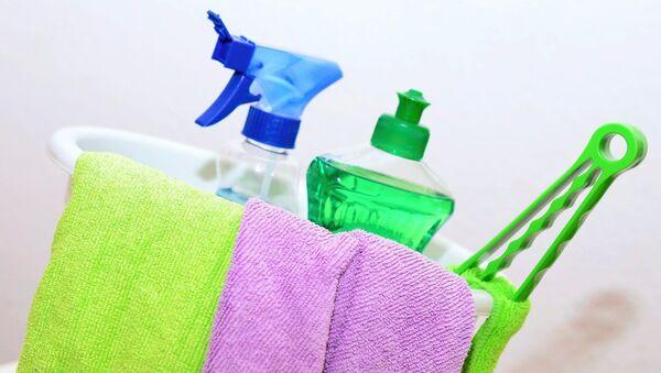Artículos de limpieza. Imagen referencial - Sputnik Mundo