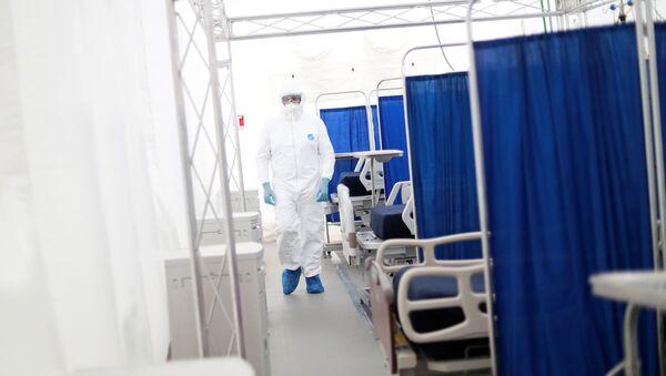 Hospital móvil en México - Sputnik Mundo