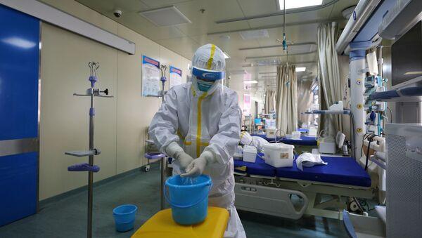 Hospital en Wuhan, China - Sputnik Mundo