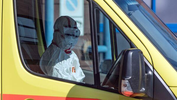 Una ambulancia - Sputnik Mundo