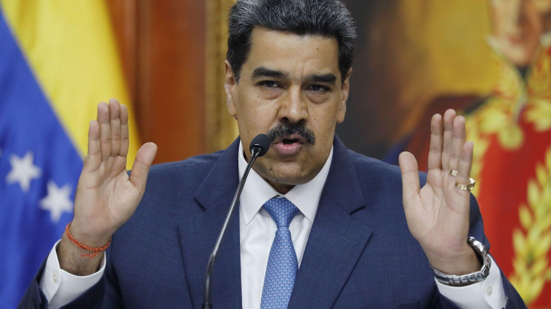 Nicolás Maduro, el presidente de Venezuela - Sputnik Mundo, 1920, 22.09.2021