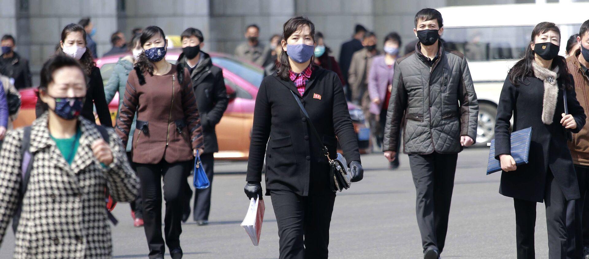 Cómo vive Corea del Norte la pandemia del coronavirus - Sputnik Mundo, 1920, 02.04.2020