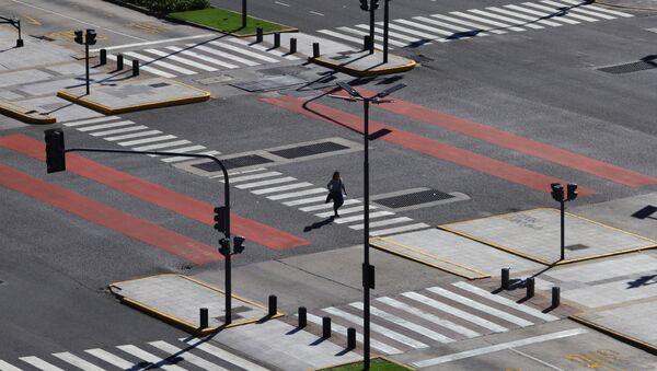 Buenos Aires, vacío por coronavirus  - Sputnik Mundo