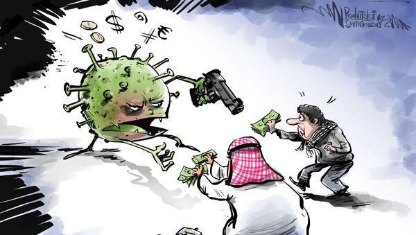 Manos arriba: el atraco del coronavirus a los países árabes - Sputnik Mundo
