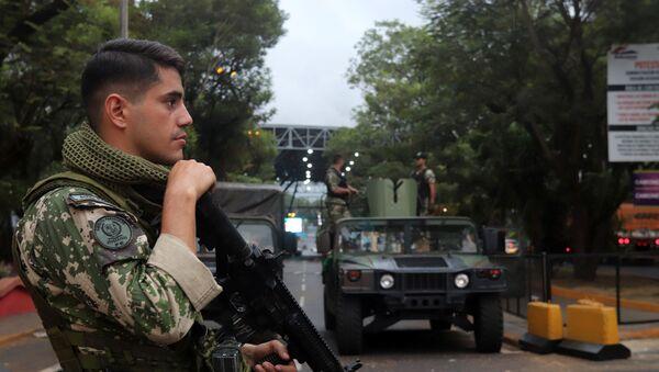 Un soldado de Paraguay - Sputnik Mundo