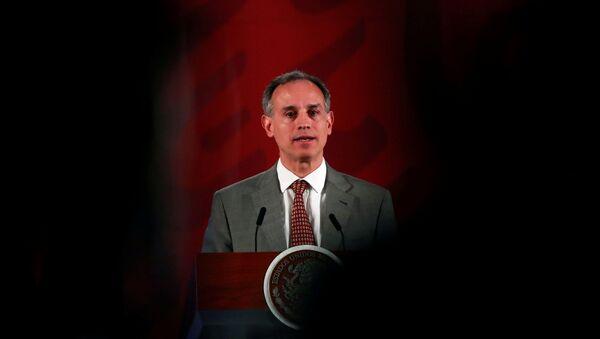 Subsecretario de Prevención y Promoción de la Salud de México, Hugo Lopez-Gatell Ramirez - Sputnik Mundo