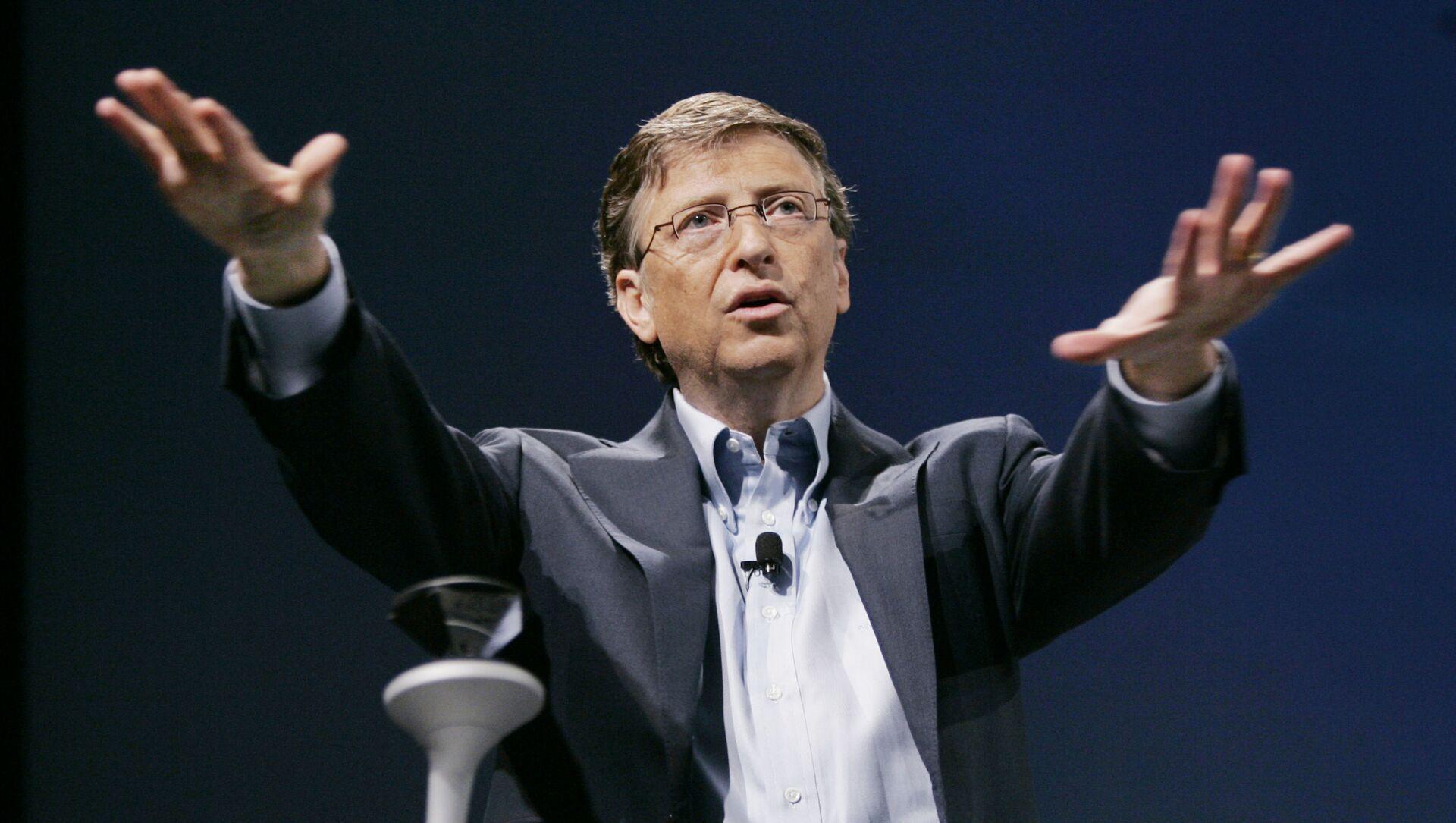 Bill Gates, fundador de Microsoft - Sputnik Mundo, 1920, 08.02.2021