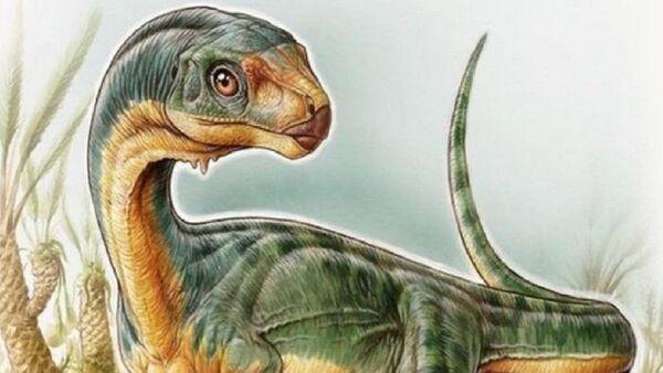 'Chilesaurus diegosuarezi' (Ilustración de Gabriel Lio) - Sputnik Mundo
