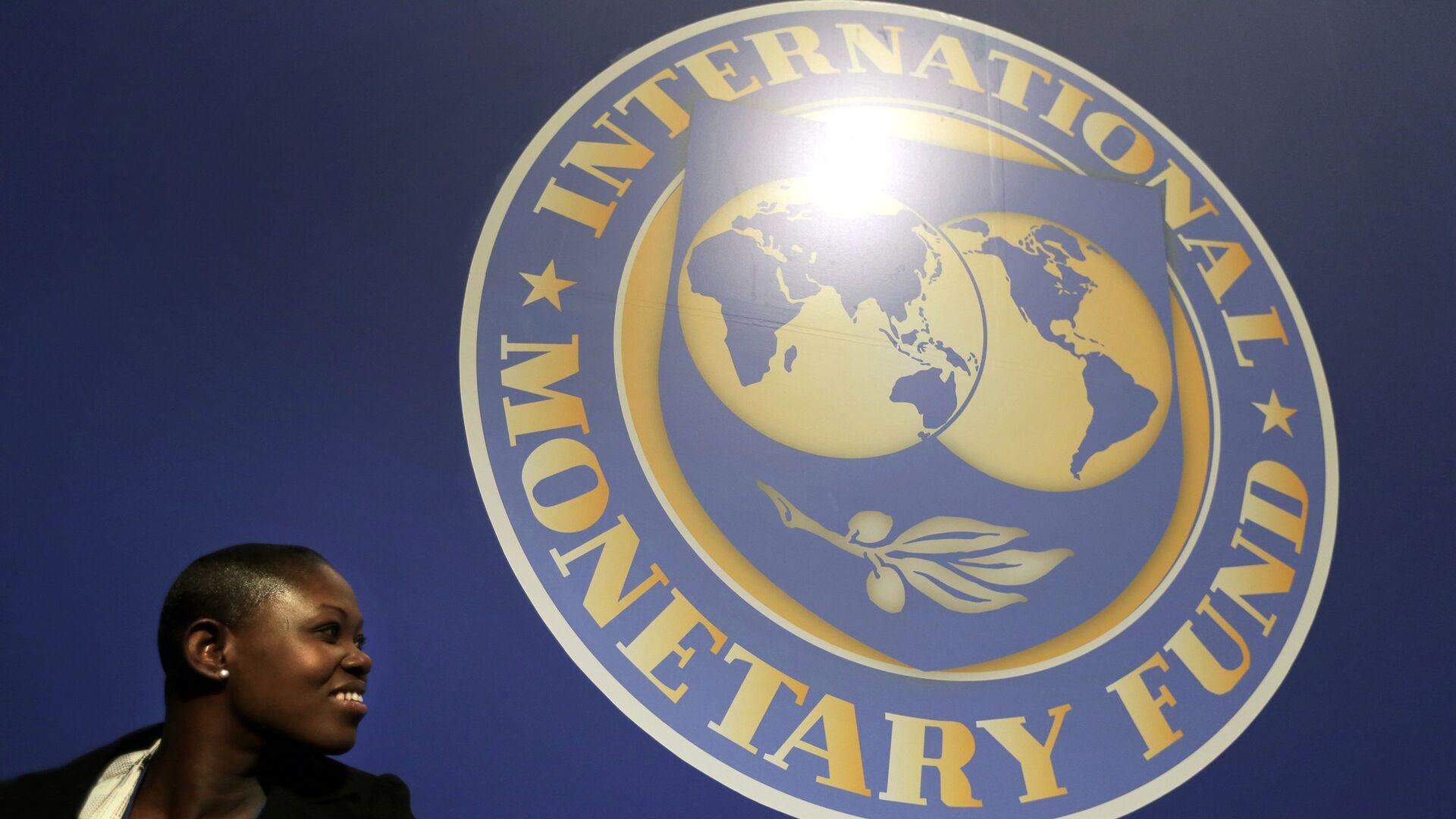 El logo del Fondo Monetario Internacional (FMI) - Sputnik Mundo, 1920, 11.10.2021