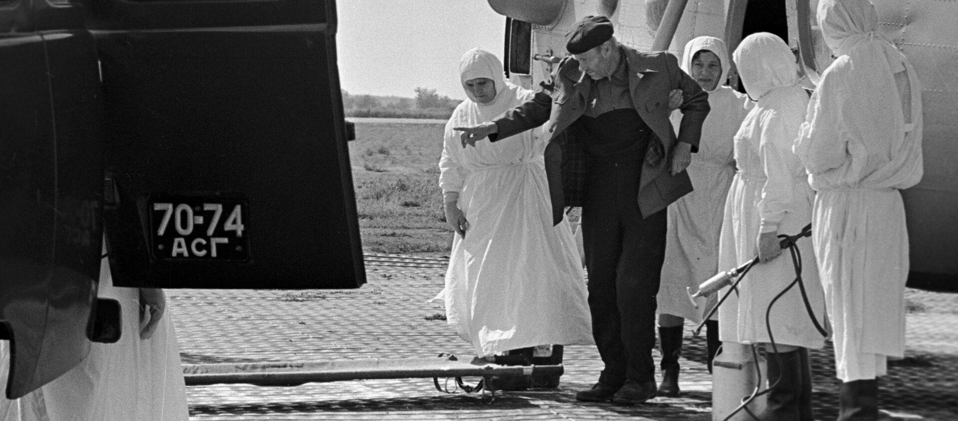 Peste, cólera y gripe: cómo combatían las epidemias en la URSS    - Sputnik Mundo, 1920, 17.04.2020