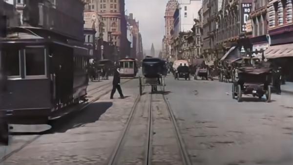 San Francisco en 1906, en definición 4K - Sputnik Mundo