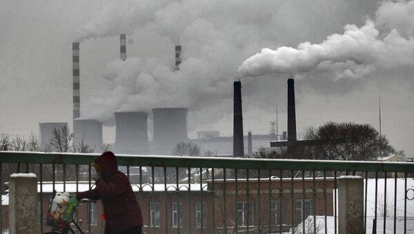 Una planta de energía en China - Sputnik Mundo