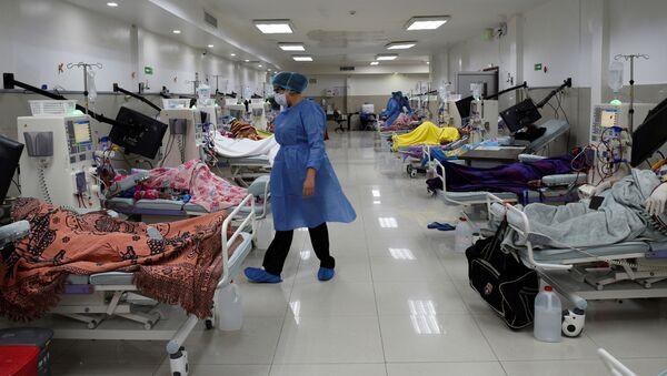 Un hospital en Ecuador (Archivo) - Sputnik Mundo