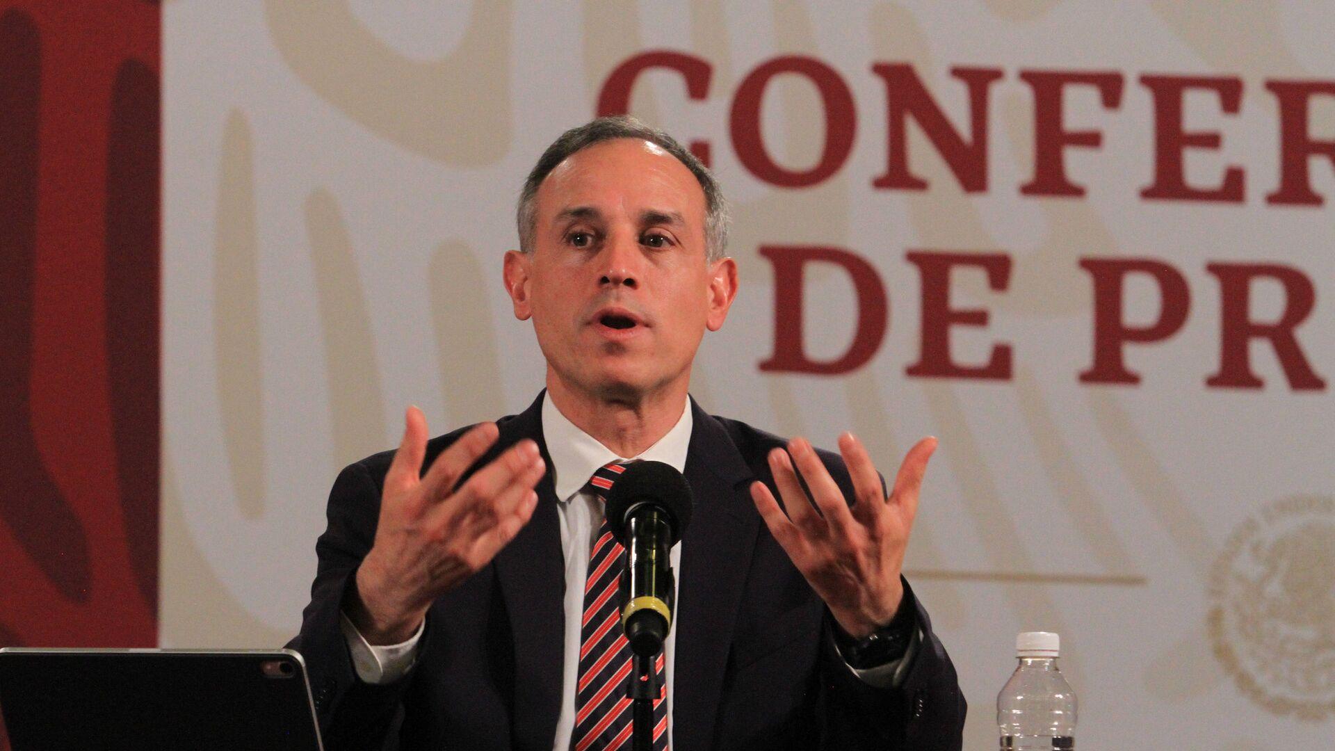 Hugo López-Gatell Ramírez, subsecretario de Prevención y Promoción de la Salud del Gobierno de México - Sputnik Mundo, 1920, 17.08.2021