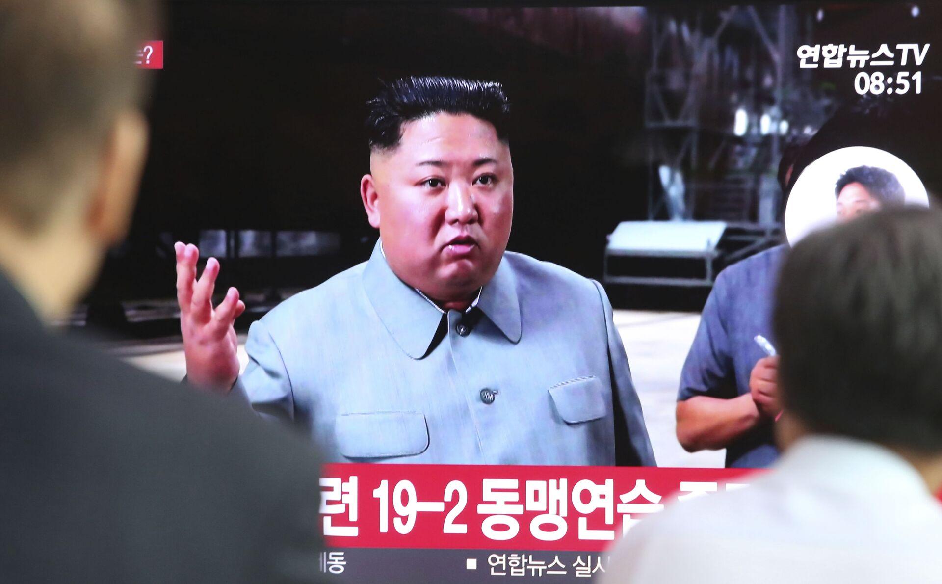 Kim Jong-un, líder de Corea del Norte  - Sputnik Mundo, 1920, 19.02.2021