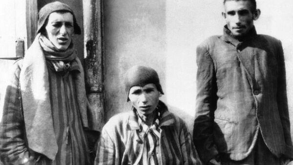 Prisioneros del campo de concentración Dachau - Sputnik Mundo