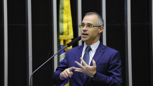 André Mendonça, ministro de Justicia y Seguridad Pública de Brasil - Sputnik Mundo