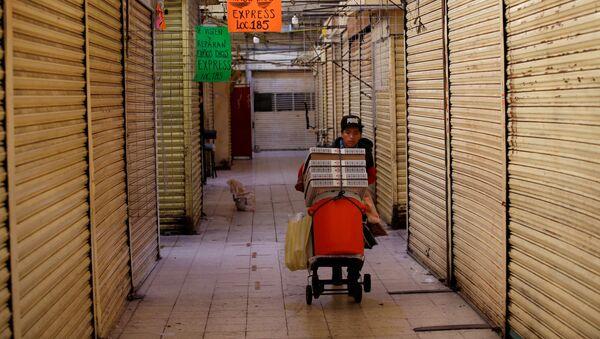 Situación en Ciudad de México durante la pandemia de COVID-19 - Sputnik Mundo