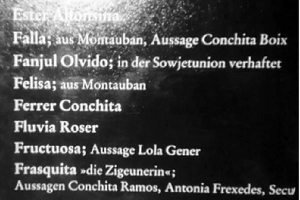 Fanjul Olvido, arrestada en la Unión Soviética: panel del campo de Ravensbrück - Sputnik Mundo