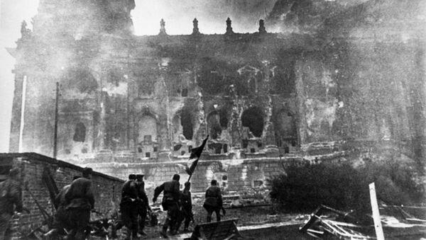 La toma del Reichstag, 1945  - Sputnik Mundo
