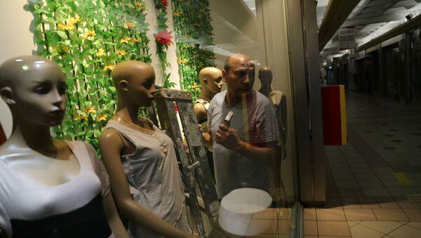 Preparan la apertura de un centro comercial en Santiago de Chile - Sputnik Mundo
