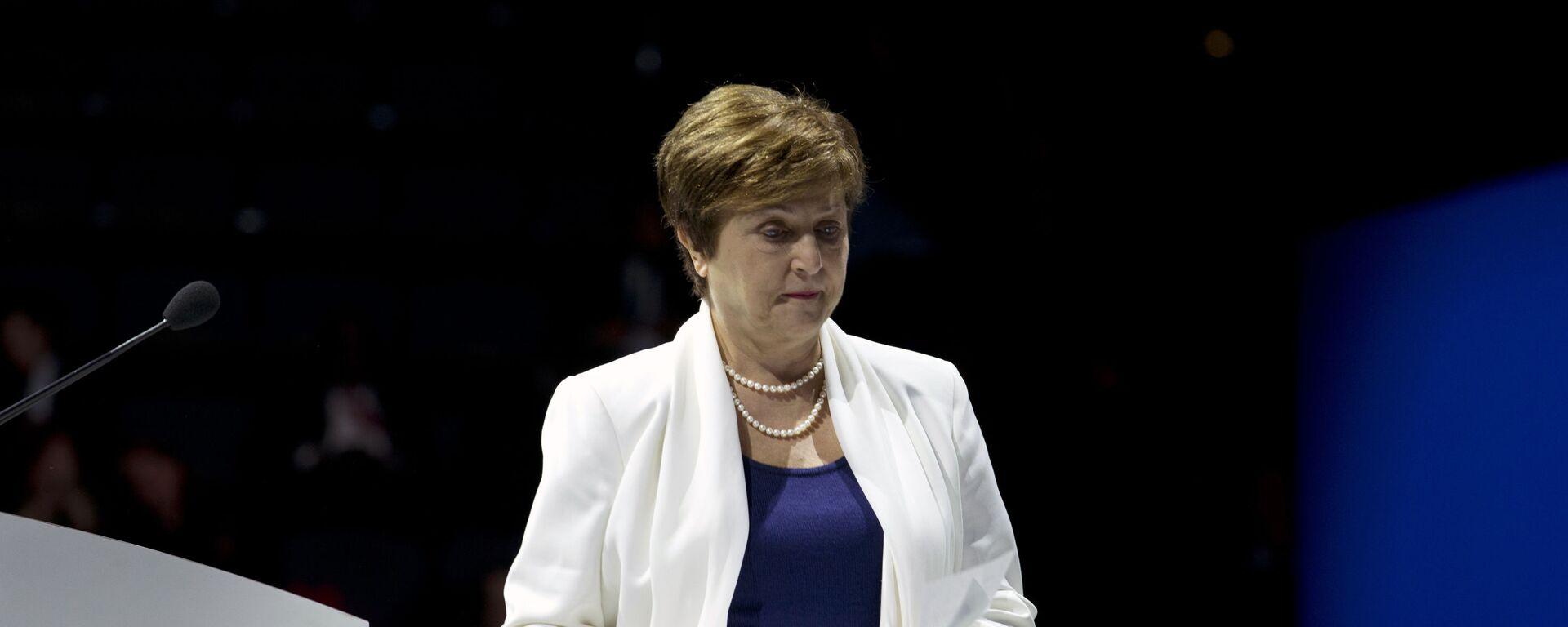 Kristalina Georgiewa, la directora gerente del FMI - Sputnik Mundo, 1920, 21.01.2021