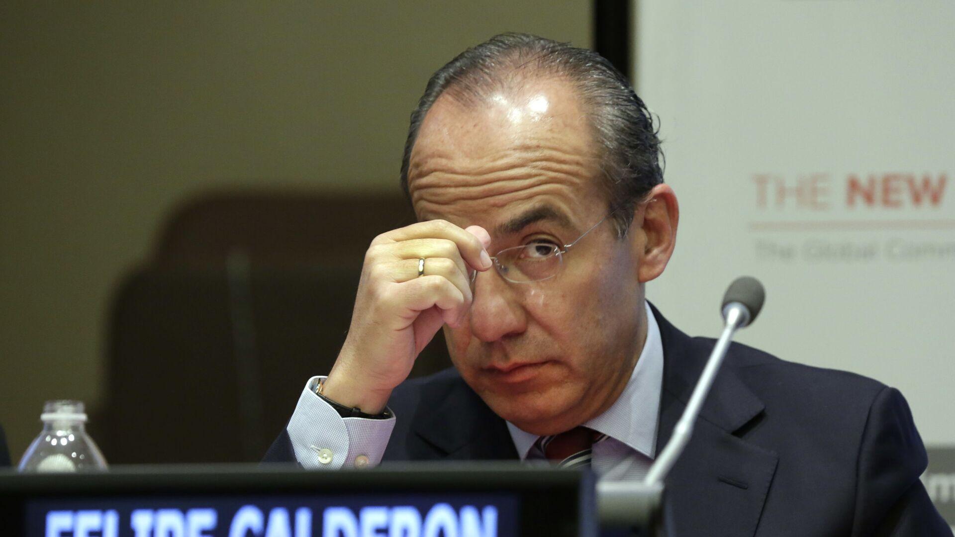El expresidente de México Felipe Calderón - Sputnik Mundo, 1920, 21.09.2021