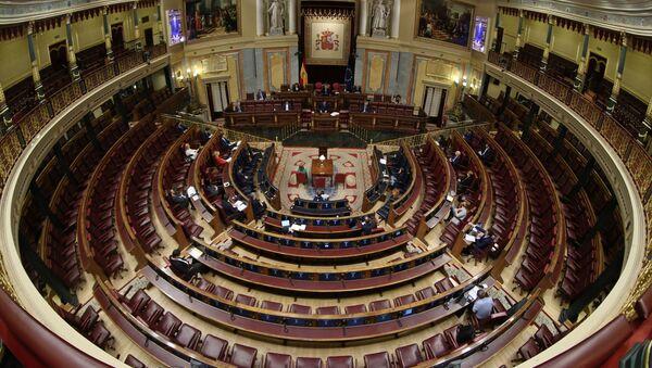Congreso de los Diputados en España - Sputnik Mundo