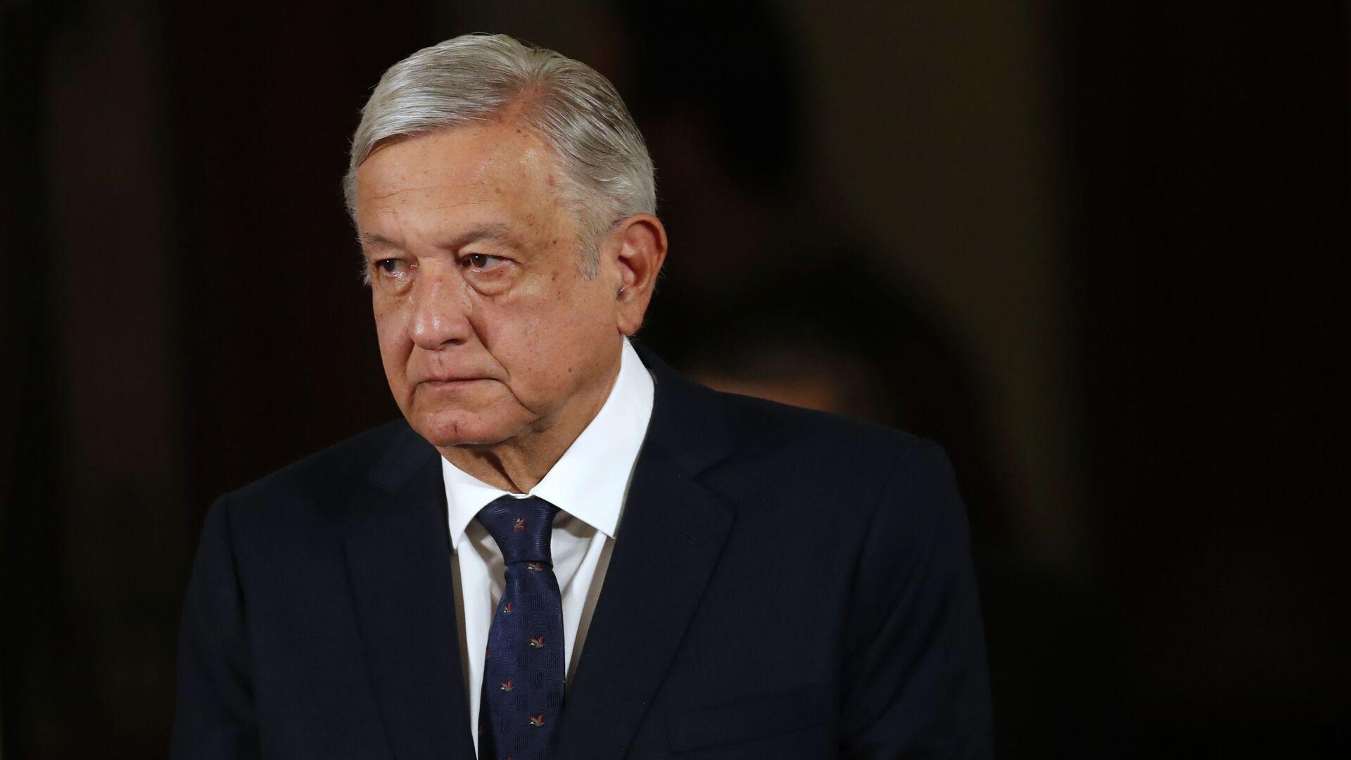 Andrés Manuel López Obrador, presidente de México - Sputnik Mundo, 1920, 27.07.2021
