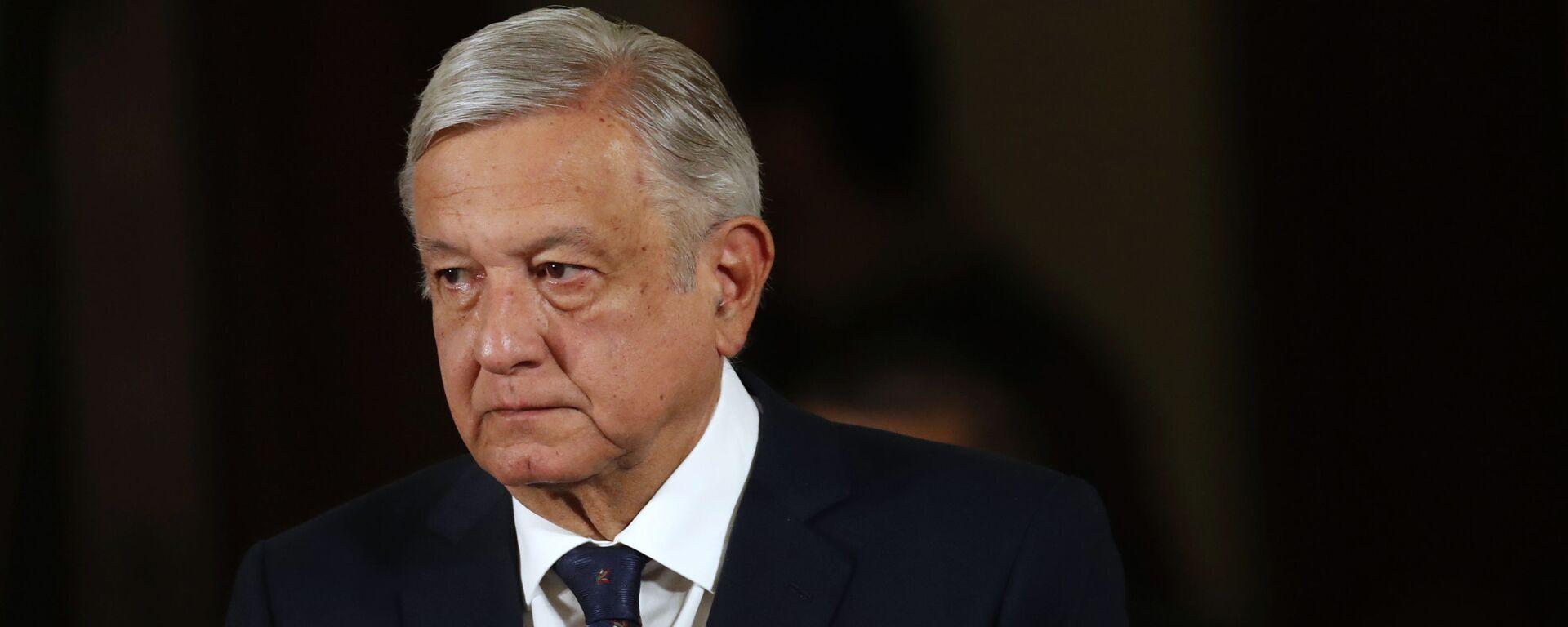 Andrés Manuel López Obrador, presidente de México - Sputnik Mundo, 1920, 18.09.2020
