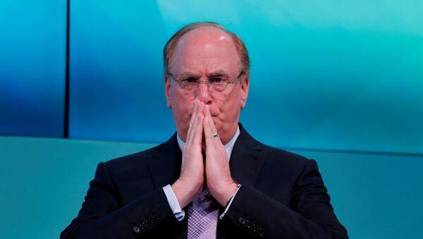 Larry Fink, el director ejecutivo del fondo BlackRock - Sputnik Mundo