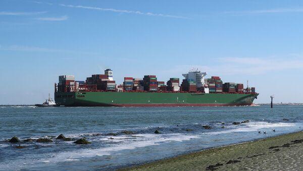 Barco de comercio marítimo - Sputnik Mundo